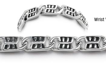 Designer Stainless Medical Bracelets Brezza della Finestra 1975