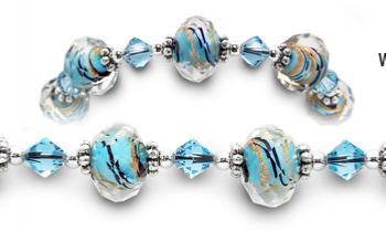 Designer Bead Medical Bracelets Sizzle V 1987