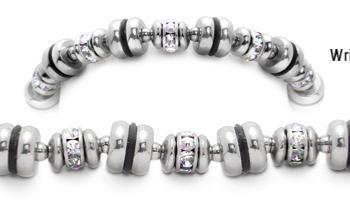 Designer Bead Medical Bracelets Phases of the Moon 2001