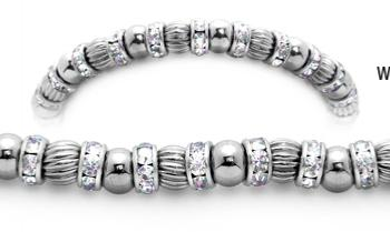 Designer Bead Medical Bracelets Sans Gravity 2002