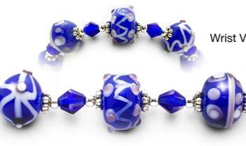Designer Bead Medical Bracelets True Blue II 2024