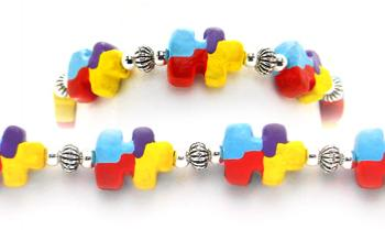 Designer Bead Medical Bracelets Dream Puzzler 2027