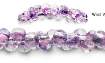 Designer Bead Medical Bracelets Lavender Winds 2043