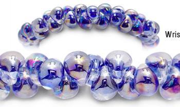 Designer Bead Medical Bracelets Purple Ice 2051