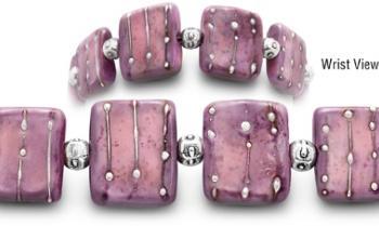 Designer Bead Medical Bracelets Sunset Over Kaibito 2054