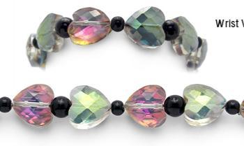 Designer Bead Medical Bracelets Cupid's Bow 2072