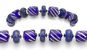 Designer Bead Medical Bracelets Blue Lazu 2077