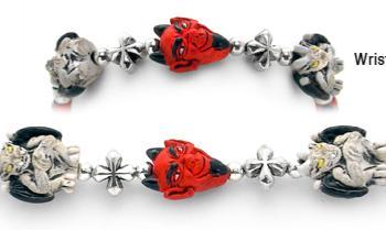 Designer Bead Medical ID Bracelet Gargoyles 2086