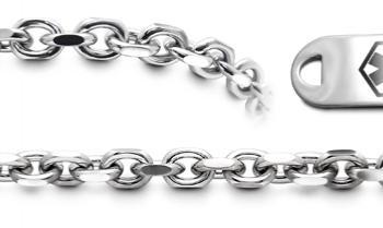 Designer Stainless Medical Bracelet Set Gusto di Napoli 22005