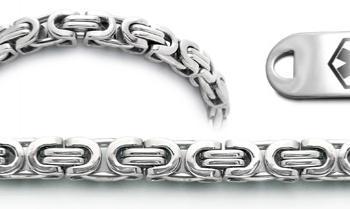 Designer Stainless Medical Bracelets Set Corsa a Milano 22009