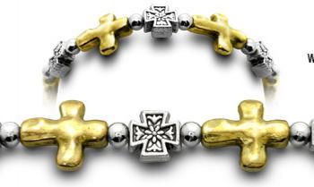 Designer Bead Medical ID Bracelets Lanciano 0230