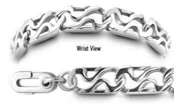 ALZ Unremovable Medical ID Bracelet Set Resistenza 51310