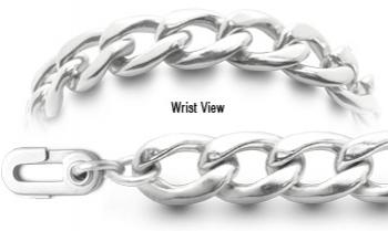 Autism Unremovable Medical ID Bracelet Set Catena Dura 62207