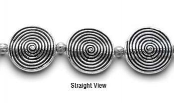 Designer Bead Medical Bracelets Swirly Gig 9618