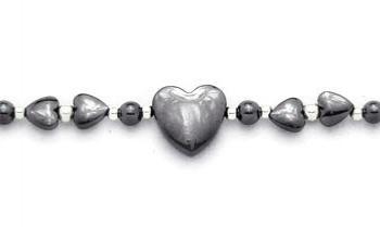 Beaded Medical Bracelets Hearts, Hearts and More Hearts 0773