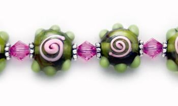 Designer Bead Medical Bracelets Wowzee 0851