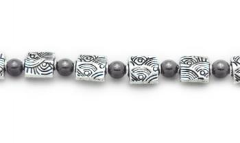 Designer Bead Medical Bracelets Midnight Sunshine 0938