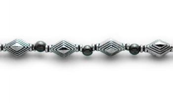 Designer Bead Medical Bracelets Diamond Trance 1070
