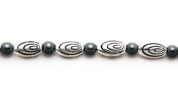 Designer Bead Medical Bracelets OMG Ovals I 1296