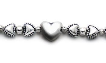 Designer Bead Medical Bracelets Quiet Hearts 1368