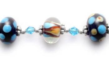 Designer Bead Medical Bracelets Sea Side 9009