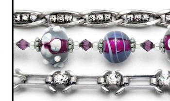 Designer Medical Bracelet Set Fascination 0868-S