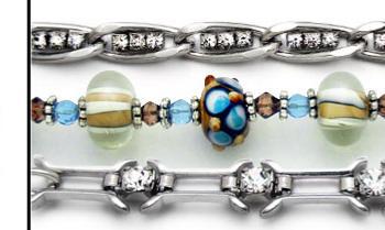 Designer Medical ID Bracelet Set Warm and Funky 0777-S