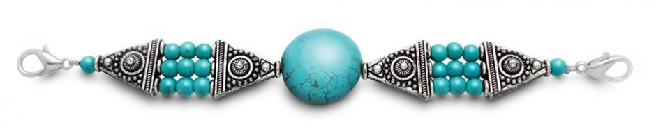 Designer Bead Medical Bracelets Southwest Gem 0118