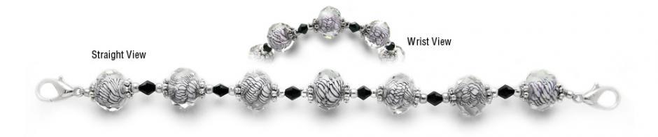 Designer Bead Medical Bracelets Sizzle III 0189