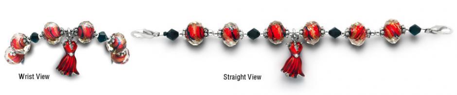 Designer Bead Medical Bracelets In A Heart Beat 0246