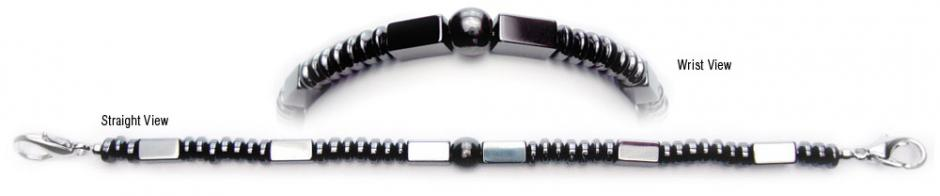 Designer Bead Medical Bracelets Simply Midnight 0362