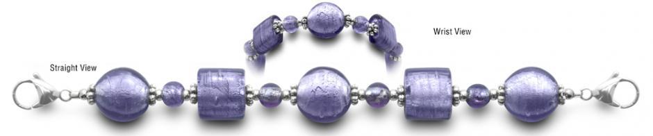 Designer Bead Medical ID Bracelets Upper Crust 0396