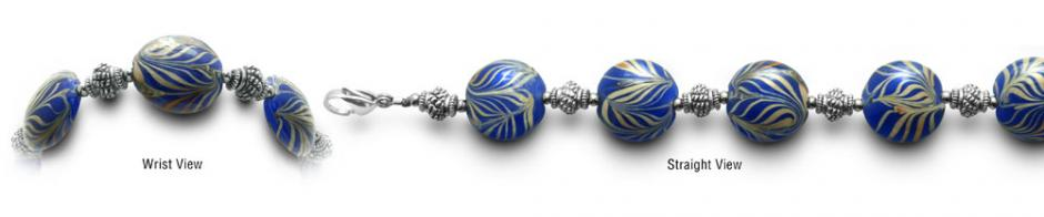 Designer Bead Medical Bracelets Hidden Zebras 0404