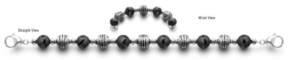 Designer Bead Medical ID Bracelets Curves Ahead 0440