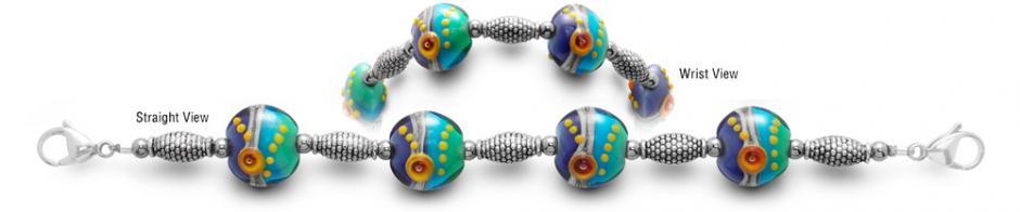 Designer Bead Medical Bracelets Miro 0447