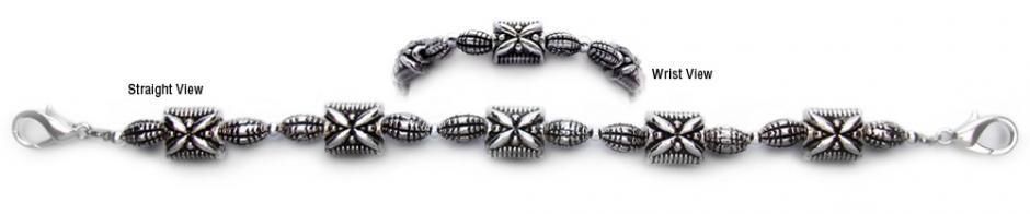 Designer Bead Medical Bracelets Butterfly Brigade 0518