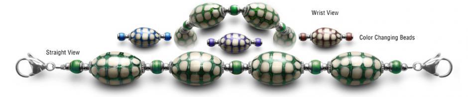 Designer Bead Medical ID Bracelets Web MoodBling 0539