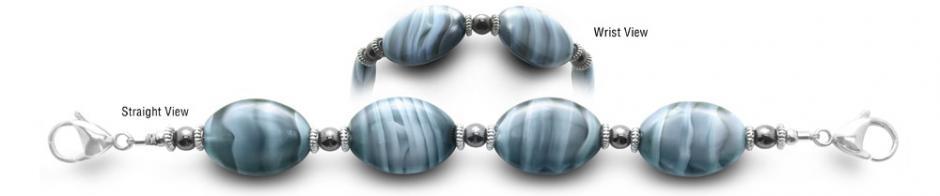 Designer Bead Medical Bracelets Caribbean 0541