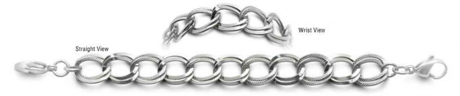 Designer Stainless Medical Bracelets Nuovi Anelli 0552
