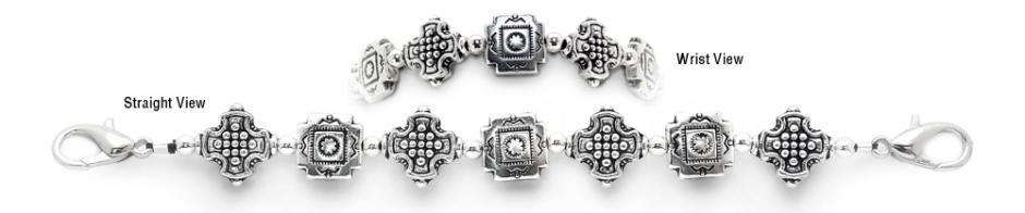 Designer Bead Medical ID Bracelets Moonlit Cathedral 0584