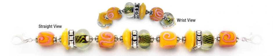 Designer Bead Medical Bracelets Honolulu Honey 0598