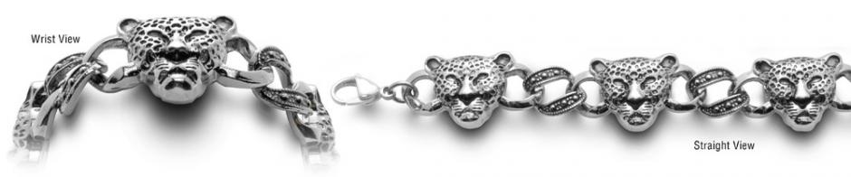 Designer Stainless Medical Bracelets Ghepardo 0599