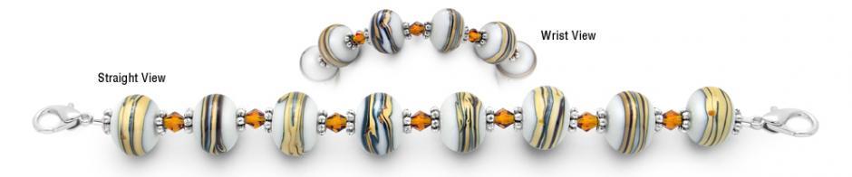 Designer Bead Medical Bracelets Honey Indulgence 0600