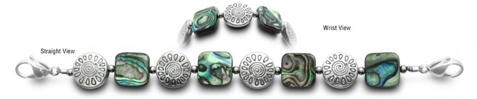 Designer Bead Medical ID Bracelets SpiritGuide 0644
