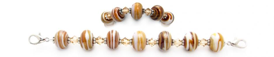 Designer Bead Medical Bracelets Lines in the Sand 0670