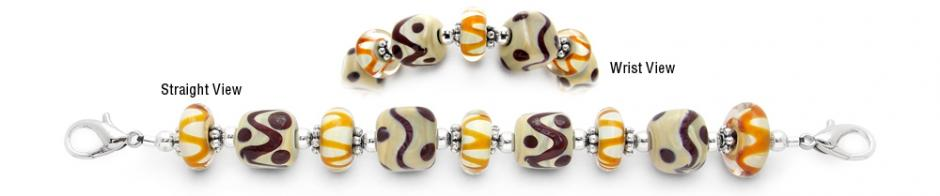 Designer Bead Medical Bracelets Indian Harvest 0699