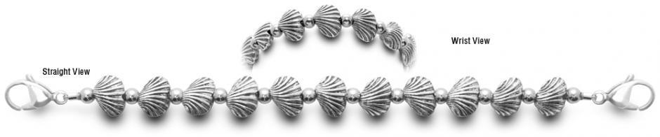 Designer Bead Medical ID Bracelets Shell Game 0716