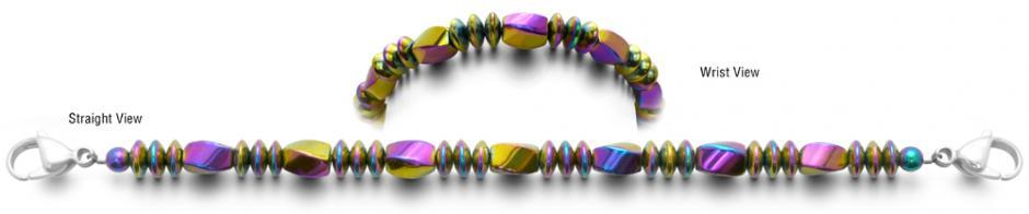 Designer Bead Medical ID Bracelets Color Crazy 0718