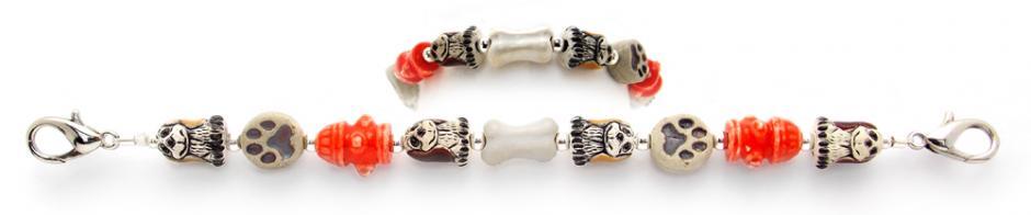 Designer Bead Medical Bracelets Puppy Love 0727