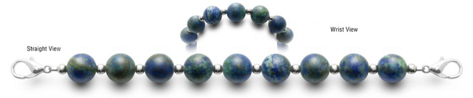 Designer Bead Medical ID Bracelets Home World 0769